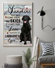 Labrador Comes From The Love 11x17 Poster lifestyle-poster-1