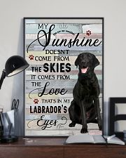 Labrador Comes From The Love 11x17 Poster lifestyle-poster-2