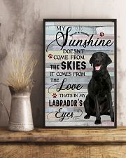 Labrador Comes From The Love 11x17 Poster lifestyle-poster-3