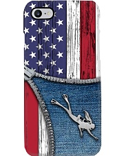Scuba diving Usa Flag Phone Case i-phone-8-case