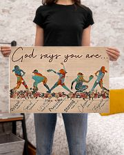 Softball - God Says You Are 24x16 Poster poster-landscape-24x16-lifestyle-20