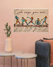 Softball - God Says You Are 24x16 Poster poster-landscape-24x16-lifestyle-22
