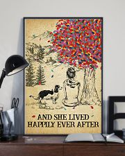 Spaniel She Lived Happily 11x17 Poster lifestyle-poster-2