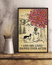 Spaniel She Lived Happily 11x17 Poster lifestyle-poster-3