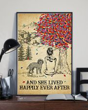 Cockapoo She Lived Happily 11x17 Poster lifestyle-poster-2