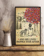 Cockapoo She Lived Happily 11x17 Poster lifestyle-poster-3