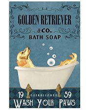 Golden bath soapb 11x17 Poster front