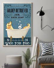 Golden bath soapb 11x17 Poster lifestyle-poster-1
