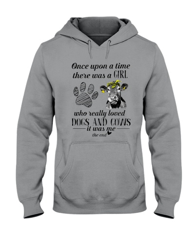 A Girl Loves Dogs And Cows