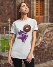 Chowder and The Giant Donut Classic T-Shirt apparel-classic-tshirt-lifestyle-06