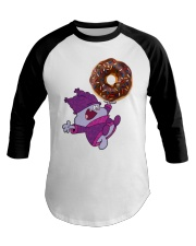 Chowder and The Giant Donut Baseball Tee thumbnail
