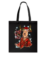 I Love Airedale Terrier Tote Bag thumbnail