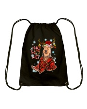 I Love Airedale Terrier Drawstring Bag thumbnail