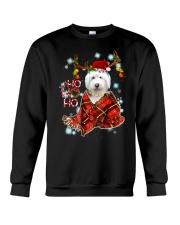 I Love Old English Sheepdog Crewneck Sweatshirt thumbnail