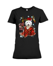 I Love Old English Sheepdog Premium Fit Ladies Tee thumbnail