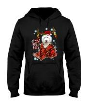 I Love Old English Sheepdog Hooded Sweatshirt thumbnail