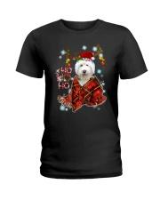 I Love Old English Sheepdog Ladies T-Shirt thumbnail