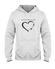 Just A California Girl Hooded Sweatshirt thumbnail