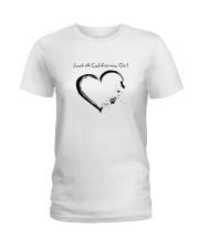 Just A California Girl Ladies T-Shirt thumbnail