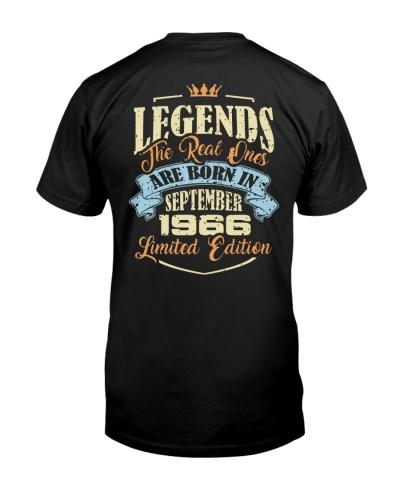 Legends September 1966 Back