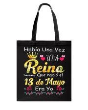 Reina 13 de Mayo Tote Bag thumbnail