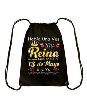Reina 13 de Mayo Drawstring Bag thumbnail