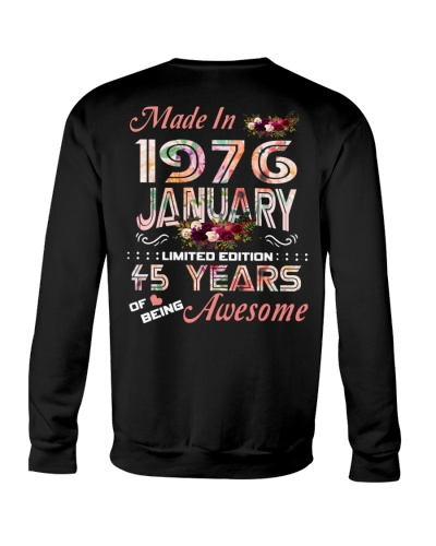 Made in January 1976 Awesome