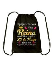 Reina 30 de Mayo Drawstring Bag thumbnail