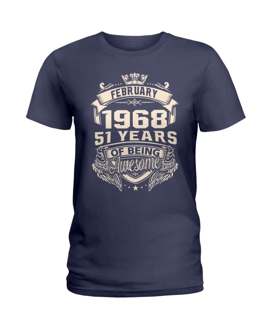February 1968 Ladies T-Shirt