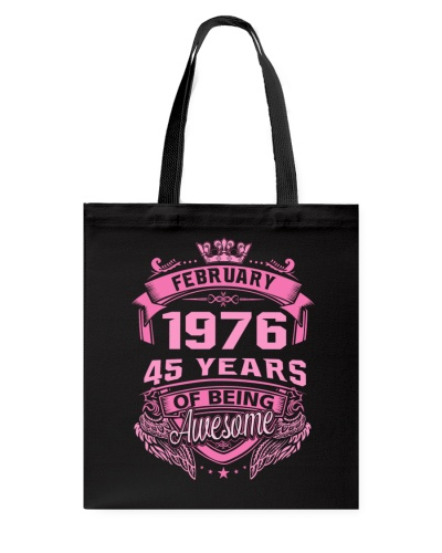 Awesome February 1976 WM Back