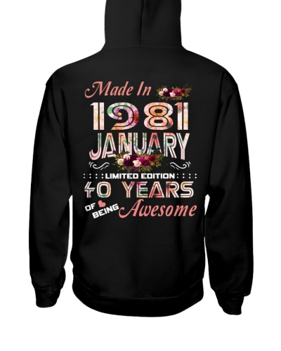 Made in January 1981 Awesome