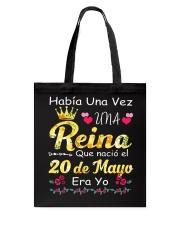 Reina 20 de Mayo Tote Bag thumbnail