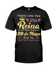 Reina 20 de Mayo Classic T-Shirt front