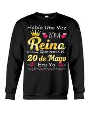 Reina 20 de Mayo Crewneck Sweatshirt thumbnail