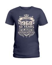NA-LEN-CAMP-10-68 Ladies T-Shirt front