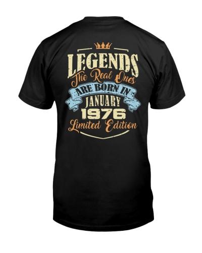 Legends January 1976 Back
