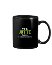 Jutte Man Shirt Mug tile