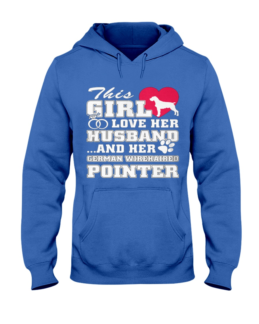 German Wirehaired Pointer MenX27S Pr 3 Hooded Sweatshirt