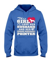 German Wirehaired Pointer MenX27S Pr 3 Hooded Sweatshirt front