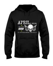 April Hooded Sweatshirt front