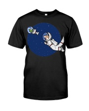 Space Otter T Shirt Classic T-Shirt front