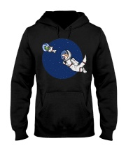 Space Otter T Shirt Hooded Sweatshirt thumbnail