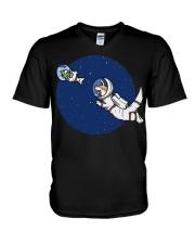 Space Otter T Shirt V-Neck T-Shirt thumbnail