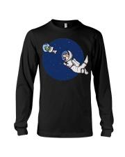Space Otter T Shirt Long Sleeve Tee thumbnail