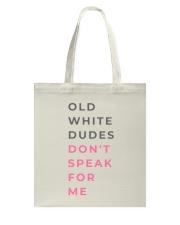 'I SPEAK FOR ME' Tote Bag thumbnail