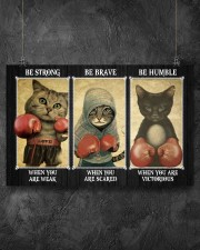 Be Strong 17x11 Poster aos-poster-landscape-17x11-lifestyle-12