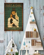 just a girl 123 24x36 Poster lifestyle-holiday-poster-2
