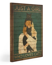 just a girl 123 Gallery Wrapped Canvas Prints tile