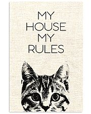 My house my rules 24x36 Poster front