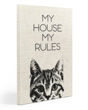 My house my rules Gallery Wrapped Canvas Prints tile